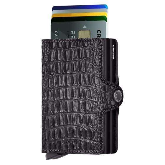 Nile Twinwallet Geldbörse RFID 7 cm black
