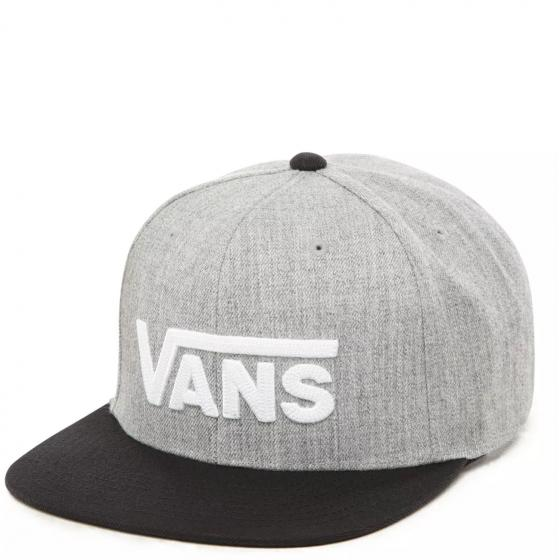 Vans Drop V II Cap heather grey/black