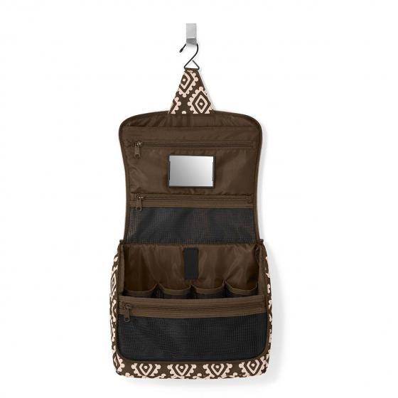 cosmetics toiletbag XL / Kulturbeutel 28 cm zebra