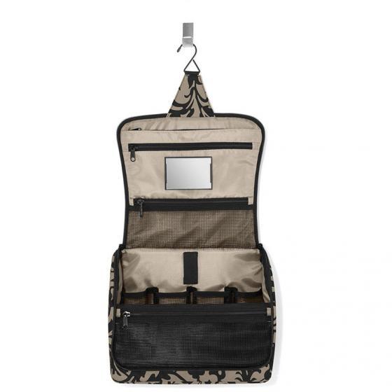cosmetics toiletbag XL / Kulturbeutel 28 cm taupe