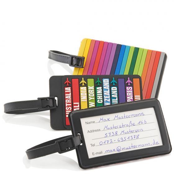 Accessoire Kofferanhänger Multicolour sortiert