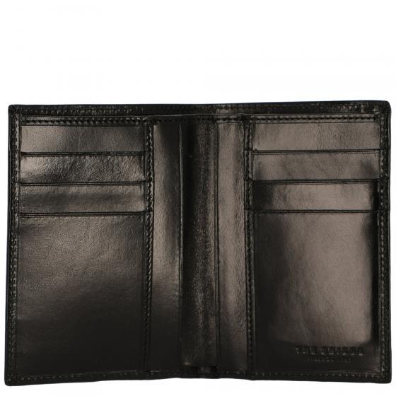 Story Uomo Kreditkartenbörse Leder 19 cm black