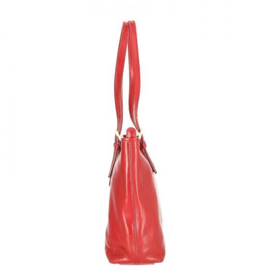 Story Donna Handtasche Leder 32 cm red