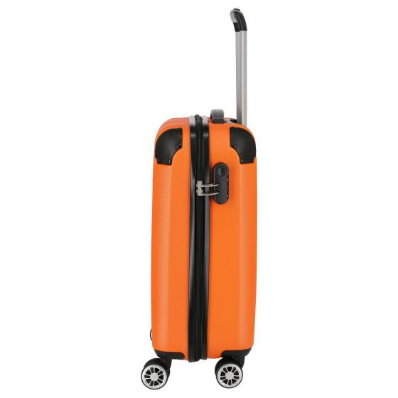 City 4-Rollen-Kabinentrolley S 55 cm orange