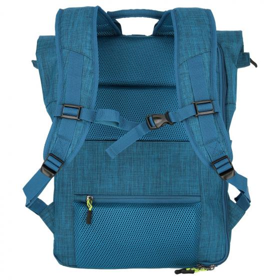 "PROOF Rollup Laptop-Rucksack 15,6"" 60 cm petrol"