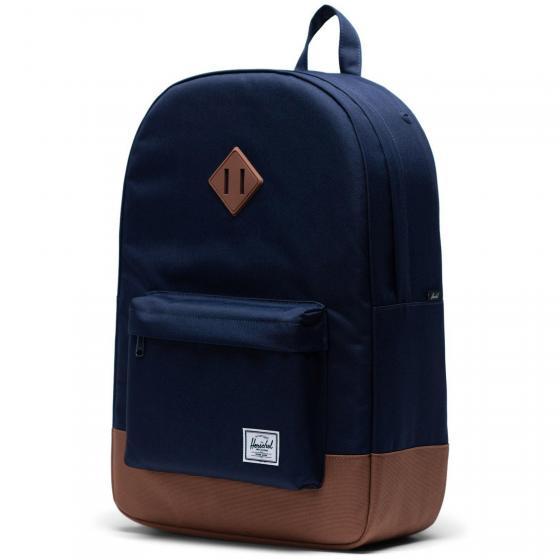 Heritage Backpack 45 cm peacoat/saddle brown