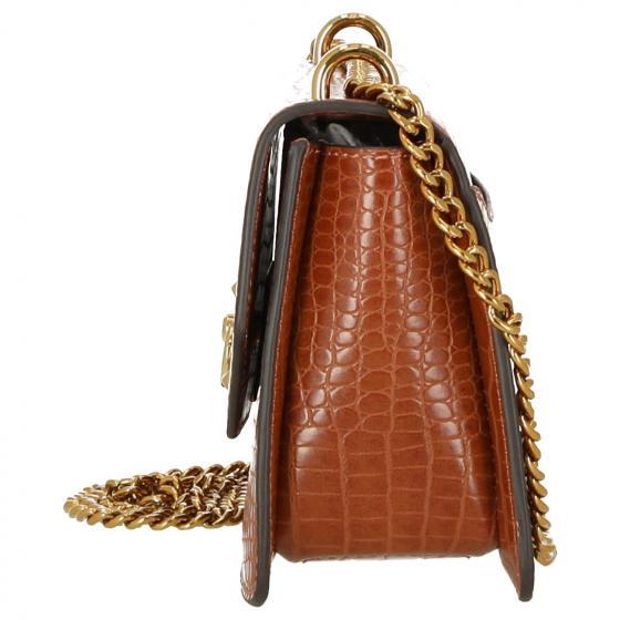 Nora Schultertasche 24 cm cognac