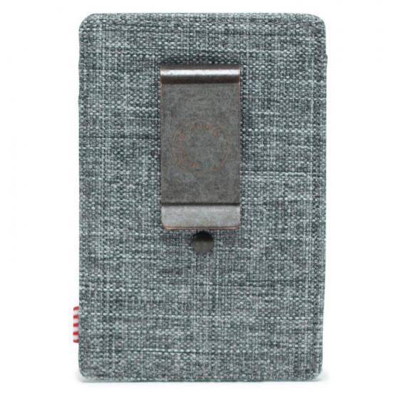 Raven RFID Kreditkartenbörse 10 cm raven crosshatch