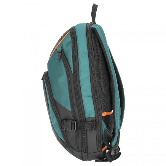 "Kleur Laptop Backpack Laptoprucksack 15.6"" 44 cm green/dark green"