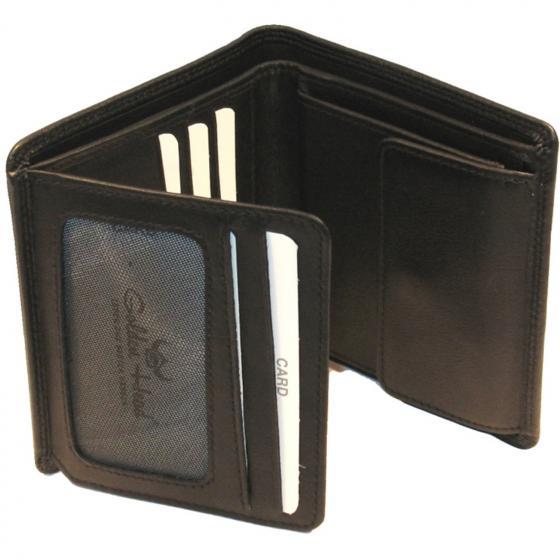 Polo RFID Scheintasche 10 cm schwarz