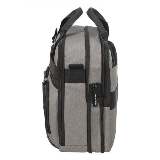 """Cityvibe 2.0 Aktentasche mit Laptopfach 15.6"""" 41 cm ash grey"""