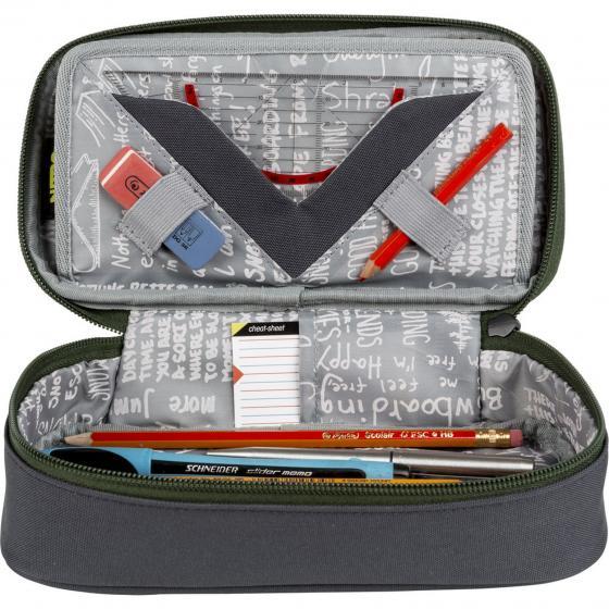 Pencil Case XL 21 cm checker