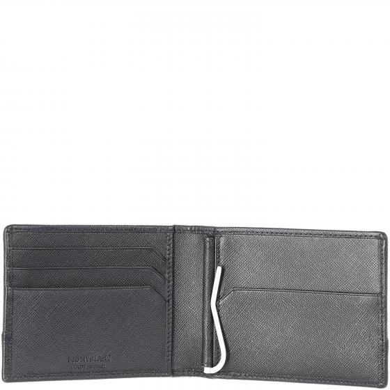 Sartorial Jet Geldbörse mit Geldscheinklammer 4cc 11.5 cm black