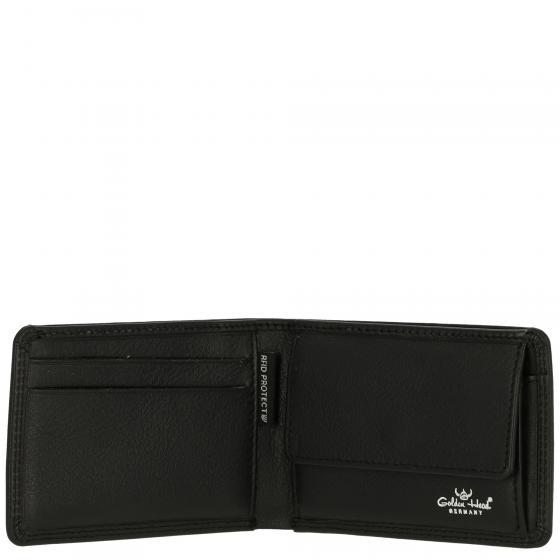 Polo RFID Minischeintasche 7 cm schwarz