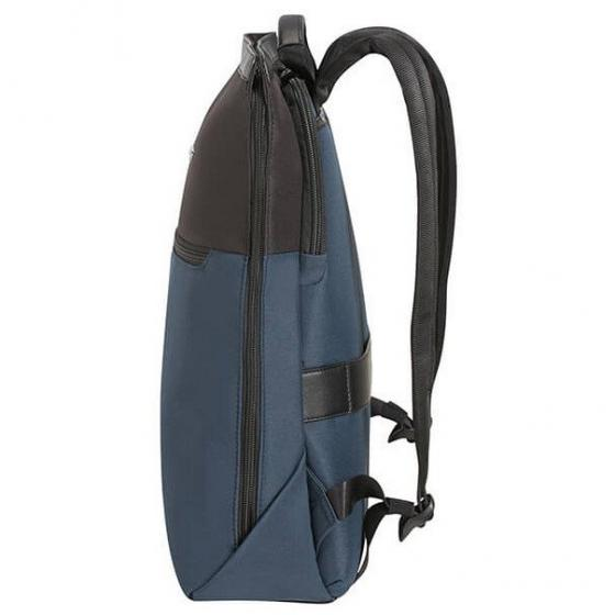 "Asterism Rucksack mit Laptopfach 14.1"" 38 cm Slim space blue"