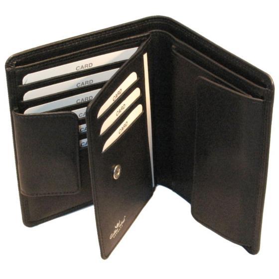 Polo Kombischeintasche 12,5 cm schwarz