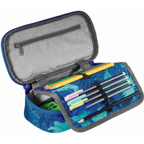 PencilDenzel Schlamperetui 24 cm Tropical Blue