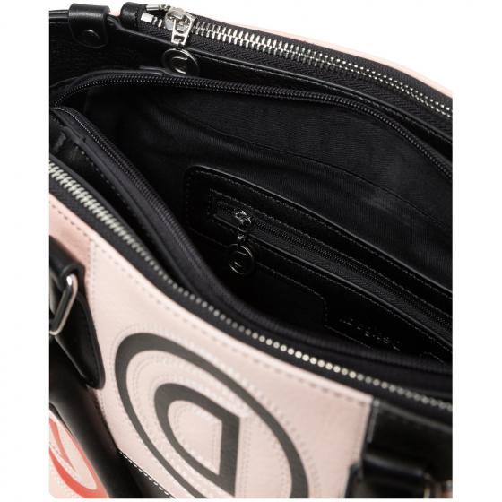 Bols Logo Patch Safi Handtasche 33 cm beige