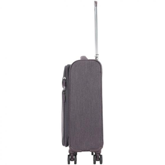 Rally 4-Rollen-Kabinentrolley 55 cm taupe brushed