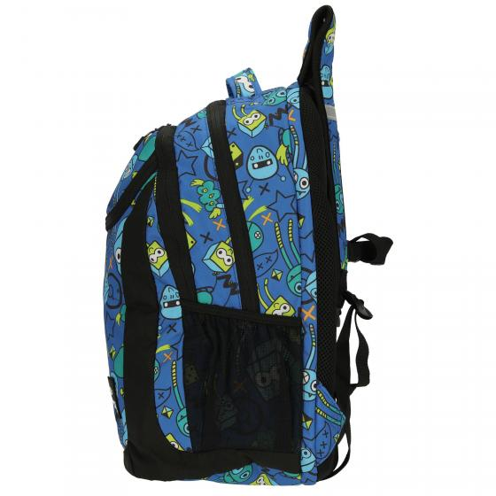 be.bag. be.active Schulrucksack 46 cm Monster Party