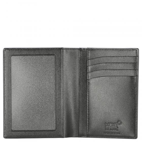 Meisterstück Brieftasche 4 cc mit Sichtfach 12.5 cm schwarz