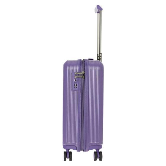 Odessa 4-Rollen-Kabinentrolley S 55 cm purple