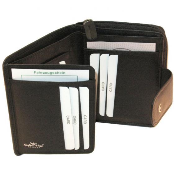 Polo RV Damengeldbörse 12,5 cm schwarz