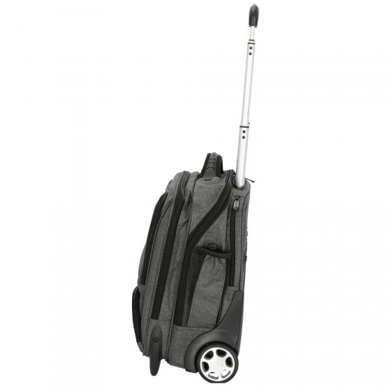 Businesstrolley aus Canvas Material 44,5 cm grau