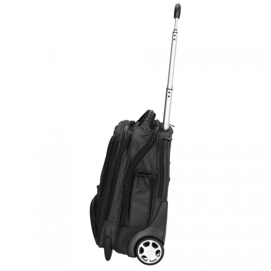 2-Rollen-Businesstrolley Canvas 44,5 cm schwarz