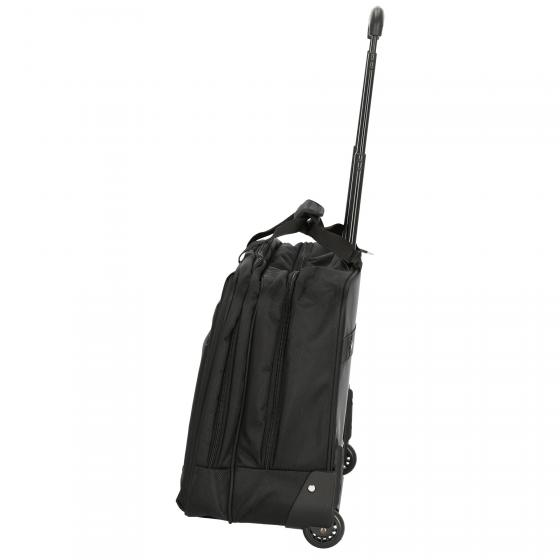 "Office Case aus Nylon Businesstrolley 44,5 cm 17"" schwarz"