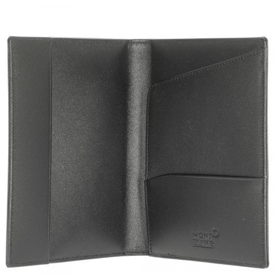 Meisterstück Etui für internationale Pässe 14 cm schwarz