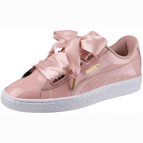 W Basket Heart Sneaker Schuh 363073 40,5 | peach beige