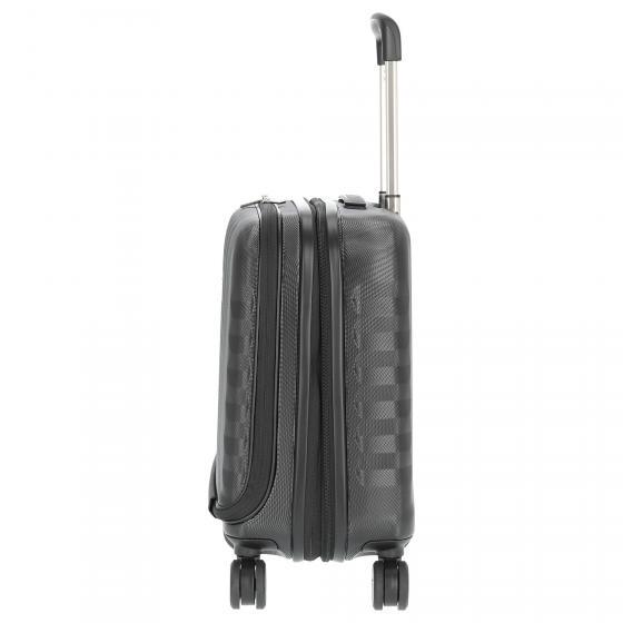 Uno Biz 4-Rollen-Businesstrolley 45 cm nero
