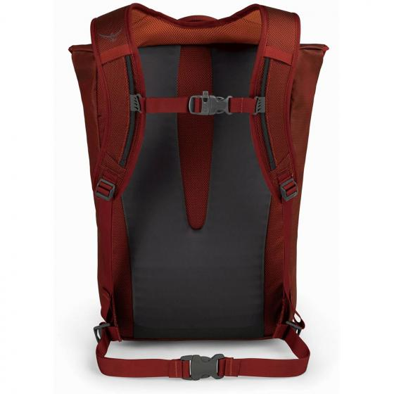 Transporter Flap Rucksack mit Laptopfach 45 cm ruffian red