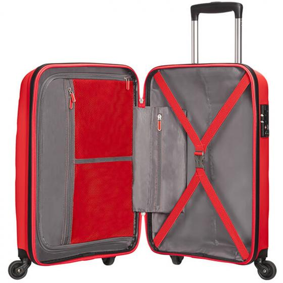 Bon Air Spinner 4-Rollen-Kabinentrolley S Strict 55 cm magma red