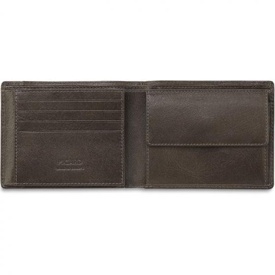 Buddy 1 Börse mit Münzfach Querformat WB 12 cm schwarz*