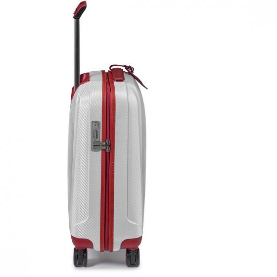 We Are Glam 4-Rollen-Kabinentrolley 55 cm S rosso/bianco