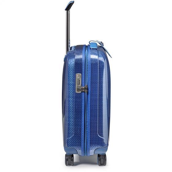 We Are Glam 4-Rollen-Kabinentrolley 55 cm S blu/blu acciaio