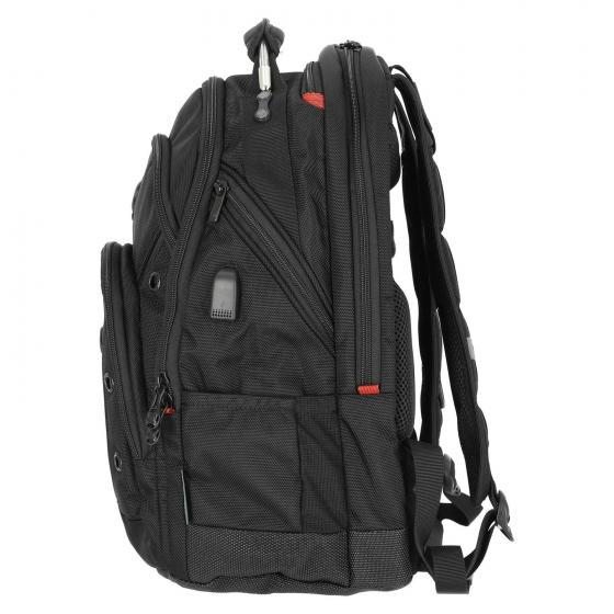 "Synergie Deluxe Laptop-Rucksack 16"" 26 L 46 cm black"