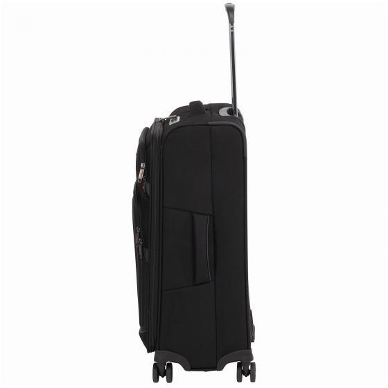 Profile Plus Soft 4-Rollen-Trolley 65 cm M schwarz