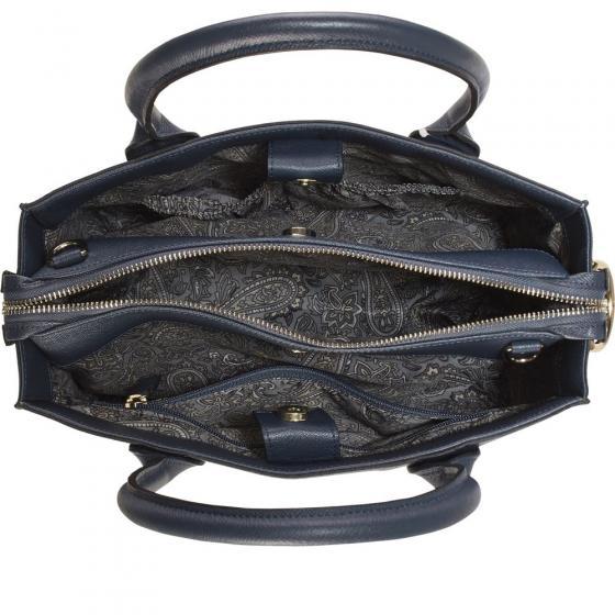 Miranda Schultertasche 31 cm schwarz