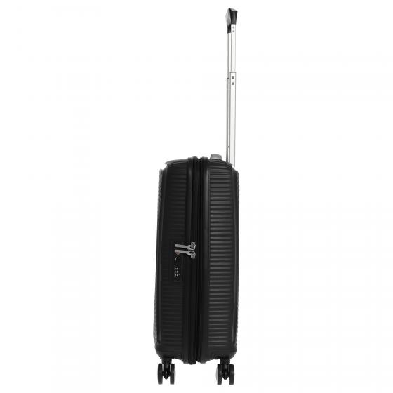 Soundbox 4-Rollen-Kabinentrolley S 55 cm erw. bass black