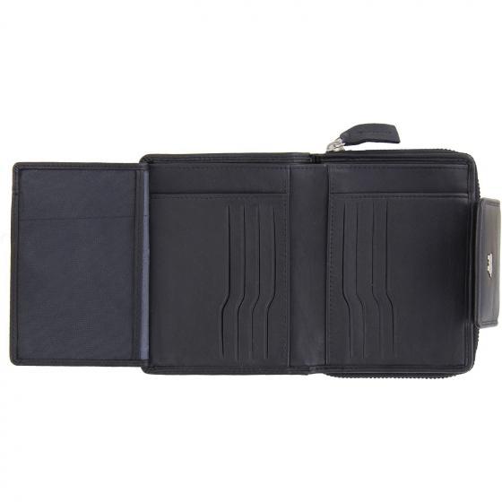 Golf Edition Börse mit Reißverschluss und Druckknopf 12 CS 12.5 cm black