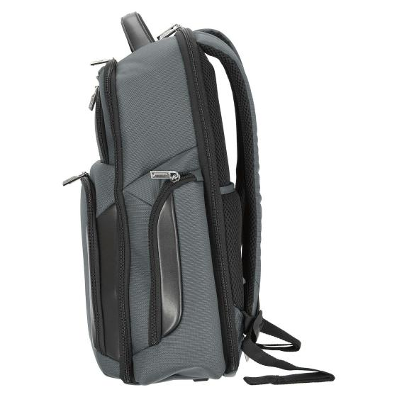 """XBR Rucksack mit Laptopfach 3V 15.6"""" 48 cm grey black"""