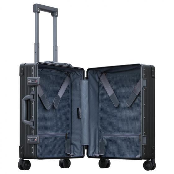 Aluminium Domestic 4-Rollen-Trolley 44.7 cm onyx