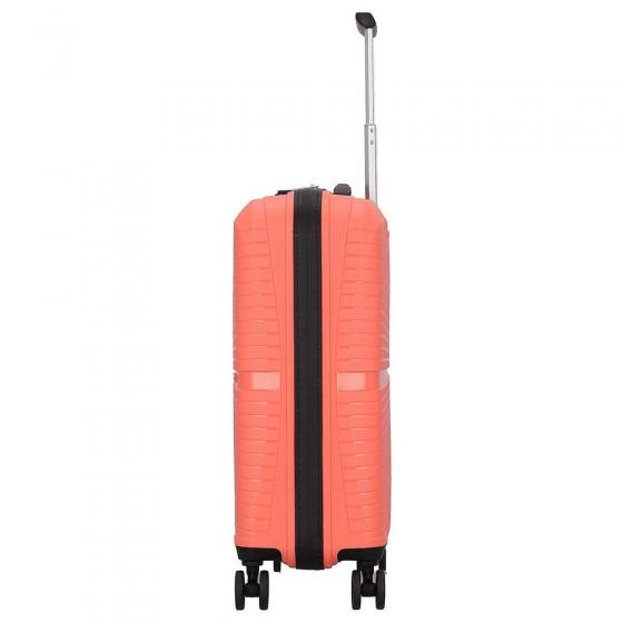 Airconic 4-Rollen-Kabinentrolley 55 cm living coral