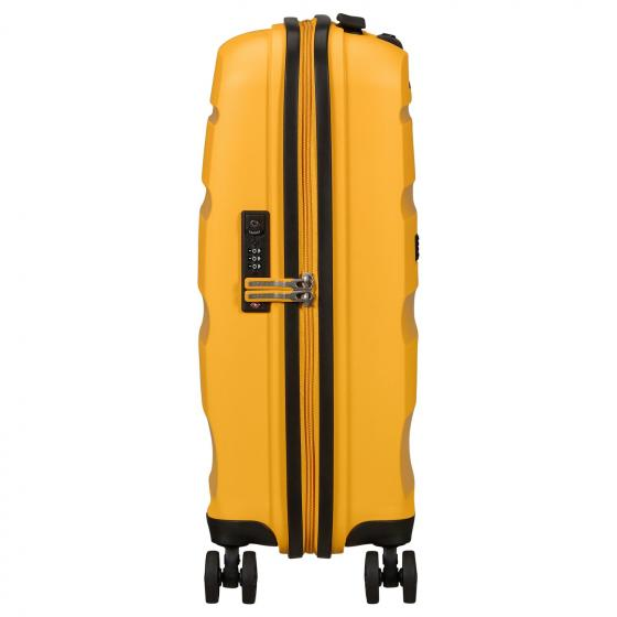 Bon Air DLX 4-Rollen-Kabinentrolley S 55/20 cm light yellow