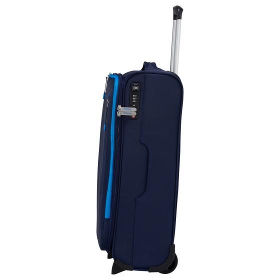 Lite Volt 2-Rollen-Kabinentrolley 55/20 cm navy/blue