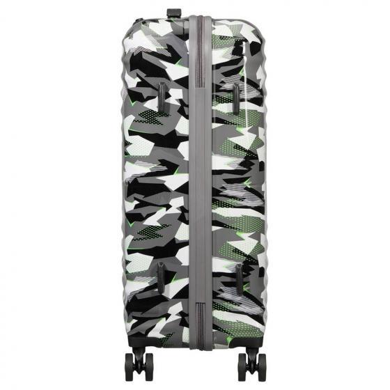 Wavetwister 4-Rollen-Trolley 66/24 cm Print camo acid green