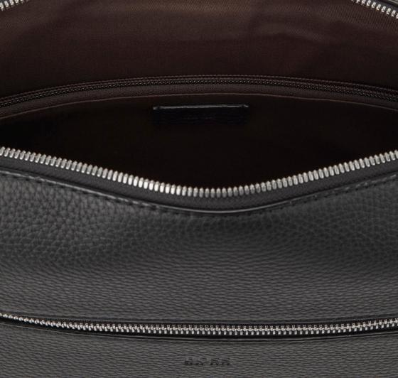 Crosstown Messenger aus weichem italienischem Leder 35 cm medium grey